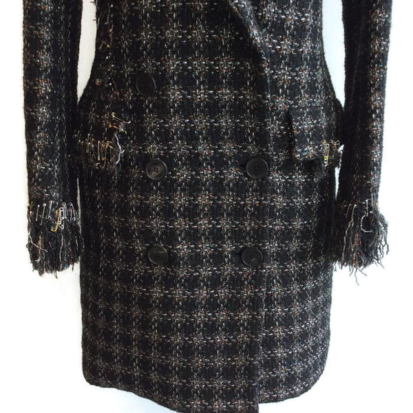 Embellished Tweed Dress by Sonia Rykiel buttons