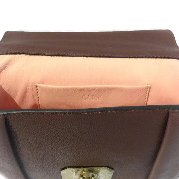 Elsie Shoulder Bag Chloé logo