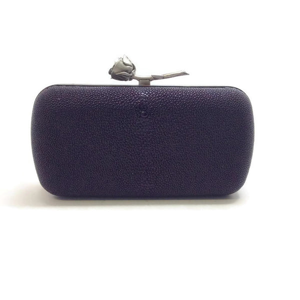 Stingray Julep Minaudiere by Lela Rose front