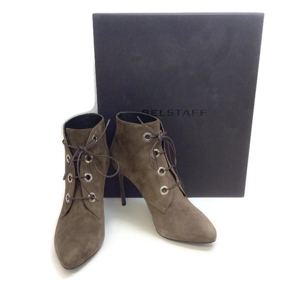 Liv Grey Boots by Belstaff with box