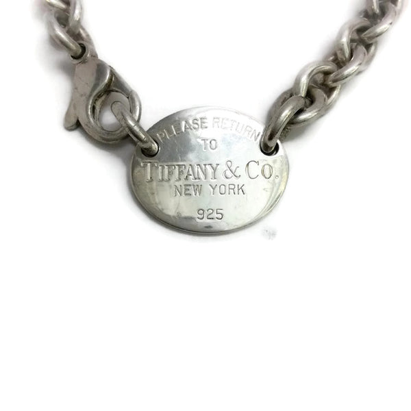 """Return to Tiffany & Co."" Oval Choker by Tiffany & Co. front"
