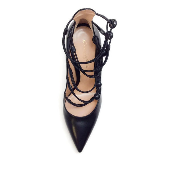 Marquis Black Pumps by Gianvito Rossi top