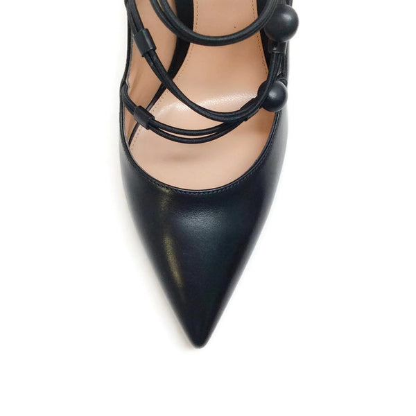 Marquis Black Pumps by Gianvito Rossi toe