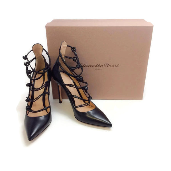 Marquis Black Pumps by Gianvito Rossi with box