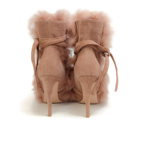 Moritz Praline Boots by Gianvito Rossi back