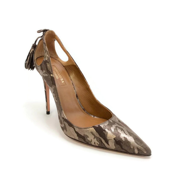 Forever Marilyn 105 Camo Pumps by Aquazzura