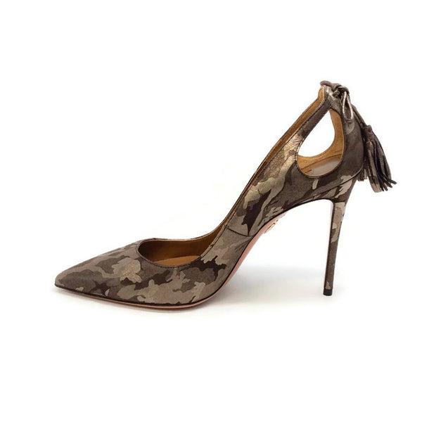 Forever Marilyn 105 Camo Pumps by Aquazzura inside
