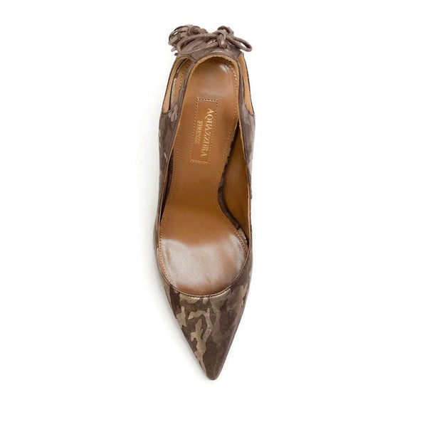 Forever Marilyn 105 Camo Pumps by Aquazzura top