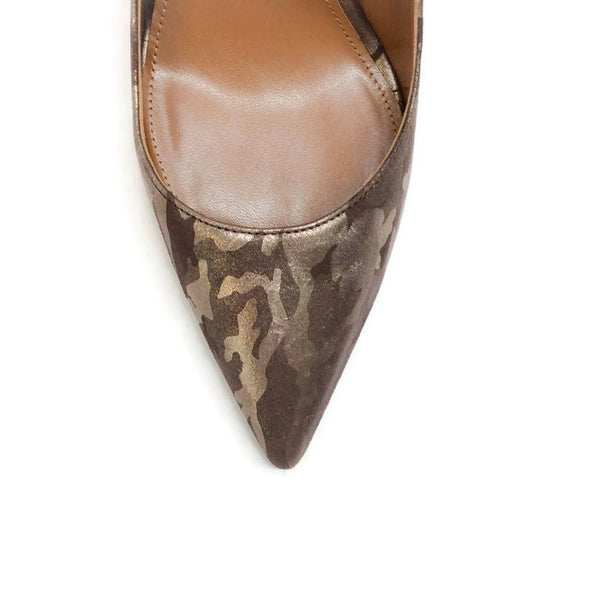 Forever Marilyn 105 Camo Pumps by Aquazzura toe