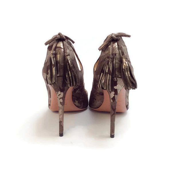 Forever Marilyn 105 Camo Pumps by Aquazzura back