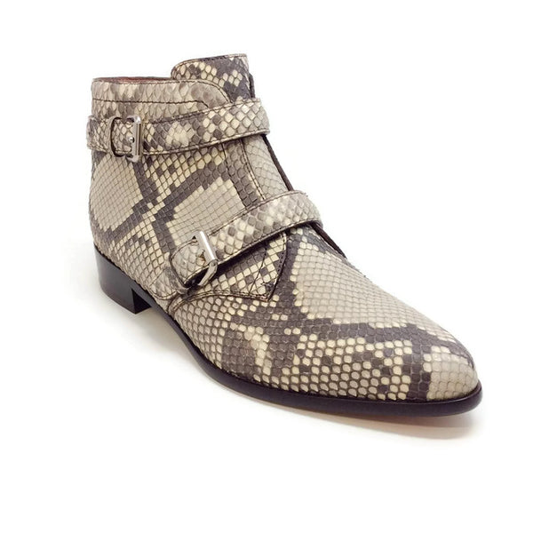 Windle 2 Strap Python Booties by Tabitha Simmons