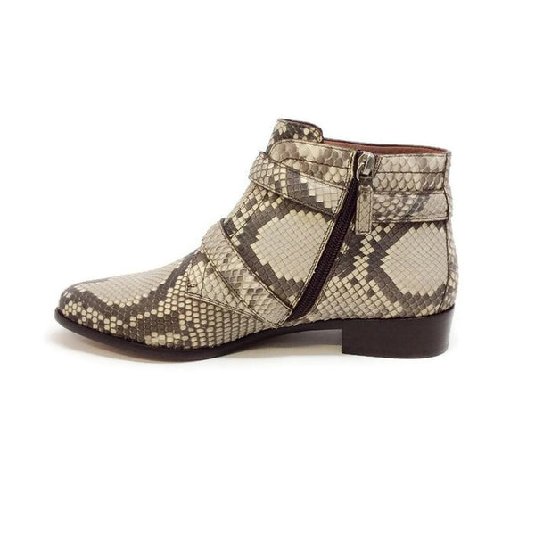 Windle 2 Strap Python Booties by Tabitha Simmons inside