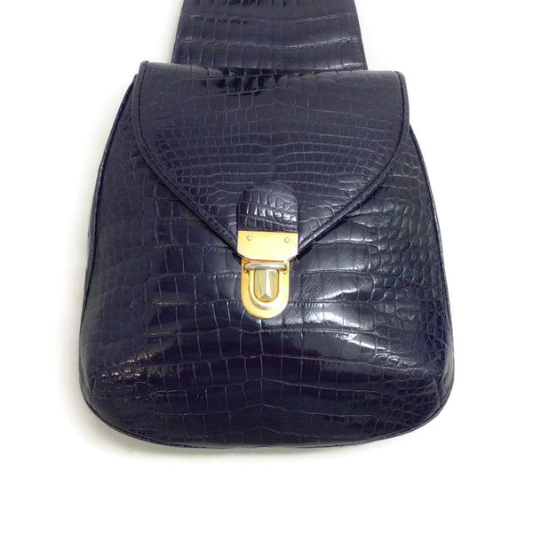 Judith Leiber Alligator Sling Shoulder Bag by Judith Leiber