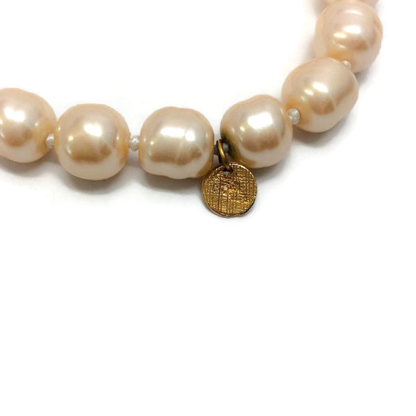 Vintage 1981 Pearl Necklace by Chanel