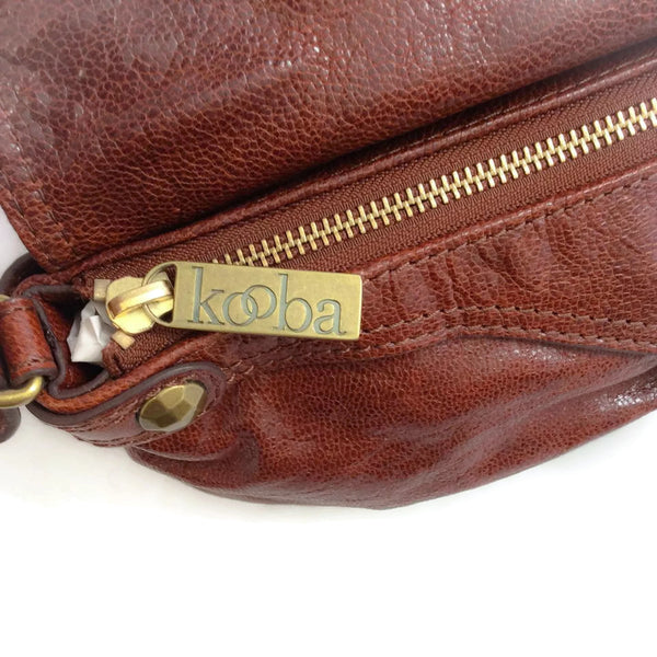 Ruched Flap Shoulder Bag by Kooba
