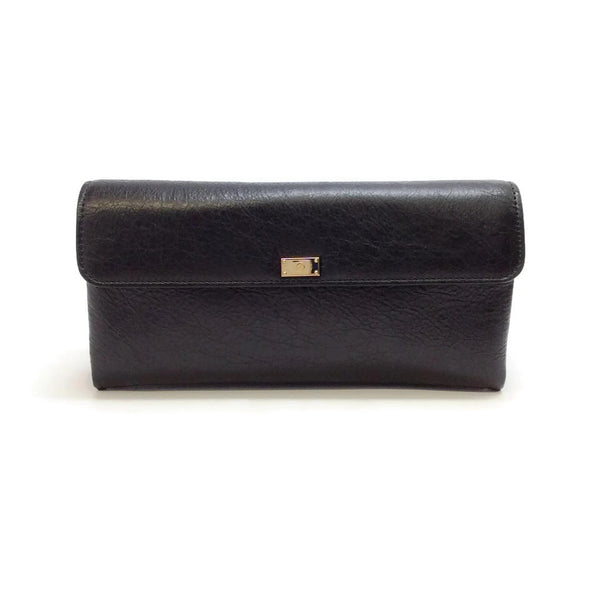 Lanvin Black Clutch With Lock