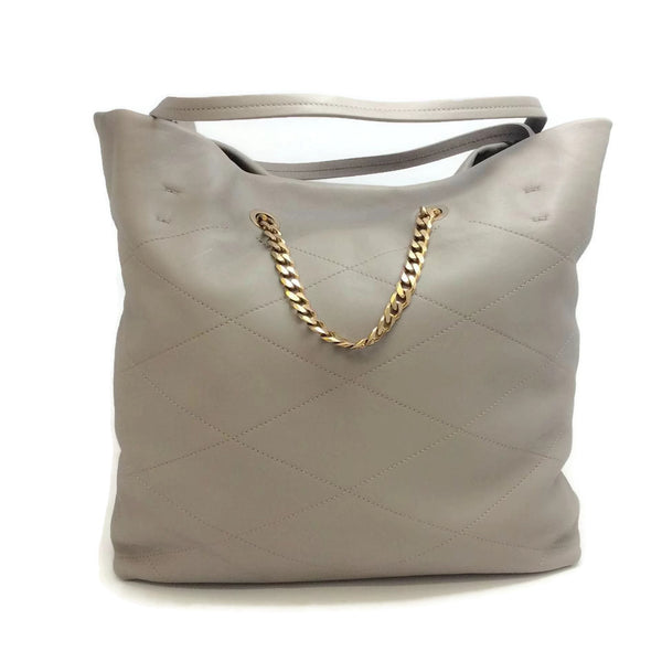 Lanvin Sugar Carry Me Medium Lambskin Stone Tote