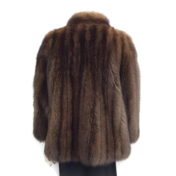 J. Mendel Natural Russian Sable Jacket Fur Coat