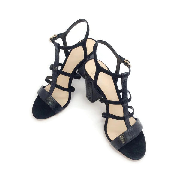 Alexandre Birman Black Caged Formal Shoe