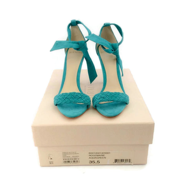 Alexandre Birman Aqua Rosemarie Pumps, with box