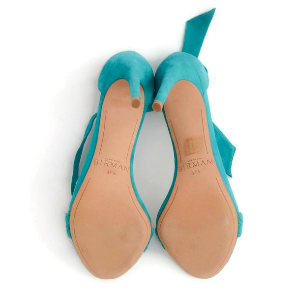 Alexandre Birman Aqua Rosemarie Pumps, bottoms, size 7.5