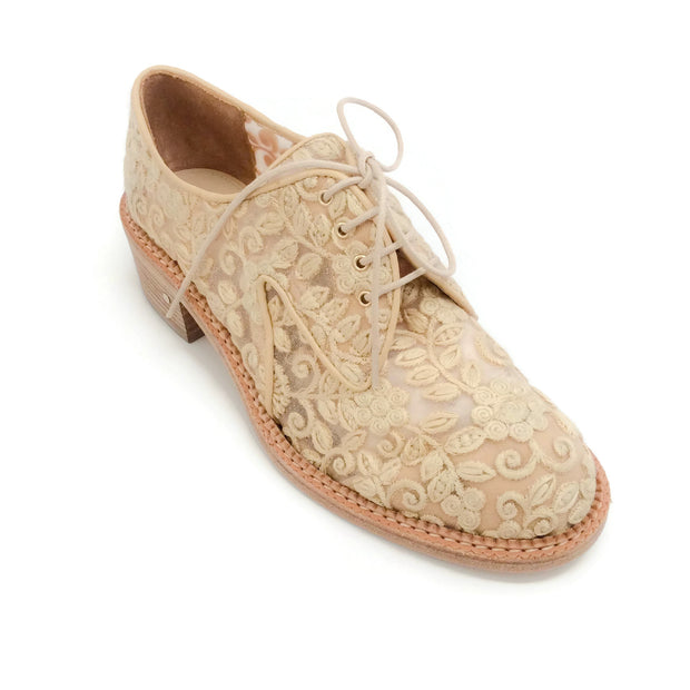 Laurence Dacade Natural Jeanne Flats Oxfords
