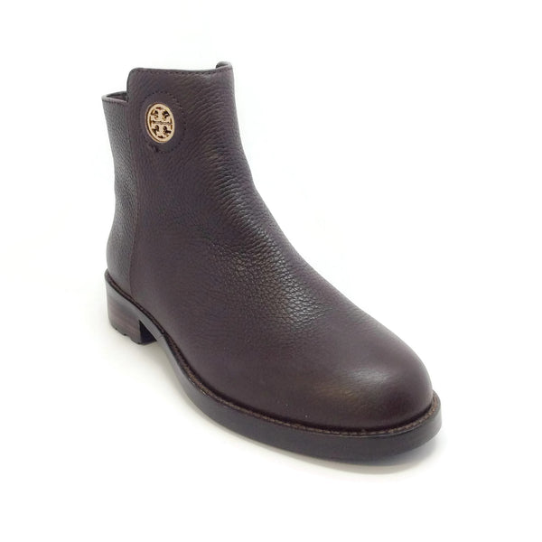 Tory Burch Brown Lug Sole Boots