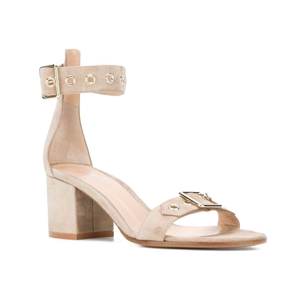 Gianvito Rossi Bisque Hayes Sandals