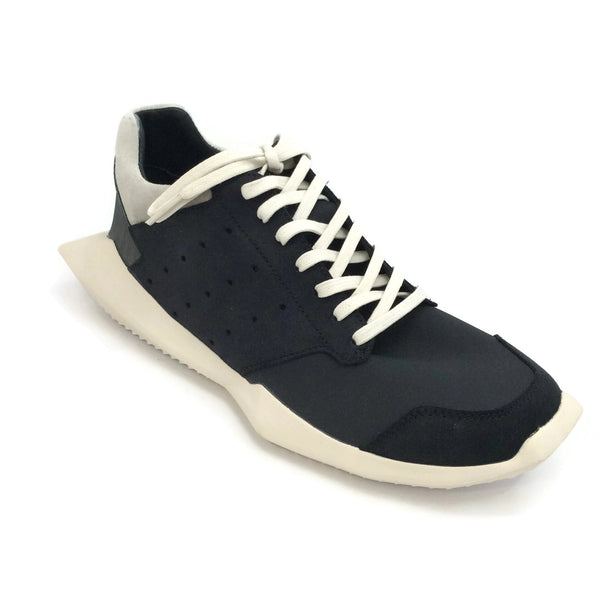 Rick Owens Black Tech Runner Sneakers