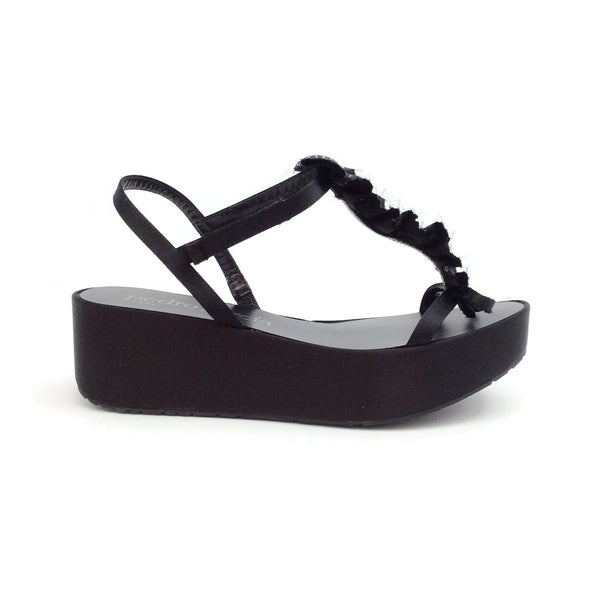 Pedro Garcia Black Neila Sandals