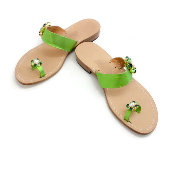 Canfora Green Fiona Sandals