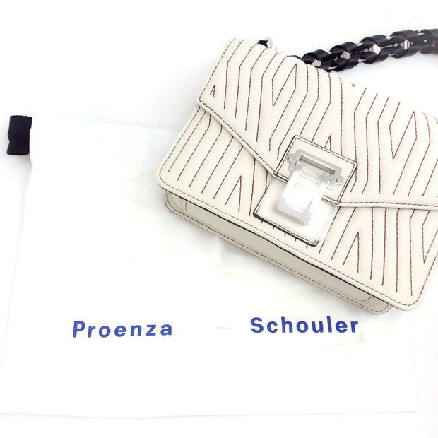 Proenza Schouler Hava Clay Leather Shoulder Bag