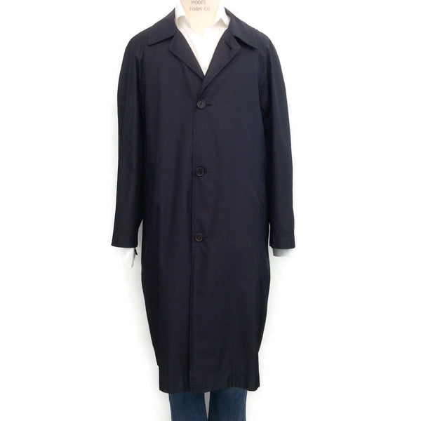 Sulka Ink Silk Travel Trench