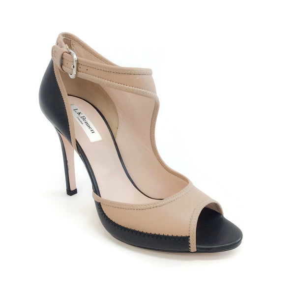 L.K. Bennett Trench / Black Kali Pumps