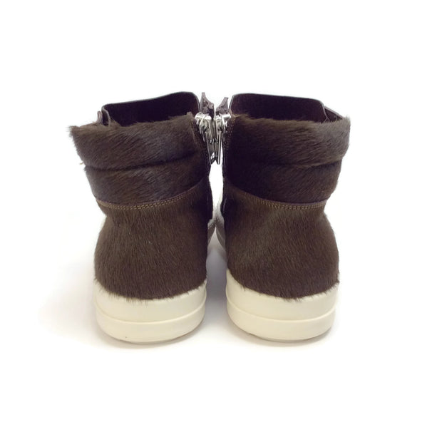 Rick Owens Dark Dust Sphinx Island Dunk Sneakers