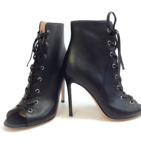 Gianvito Rossi Black Marie Leather Boots