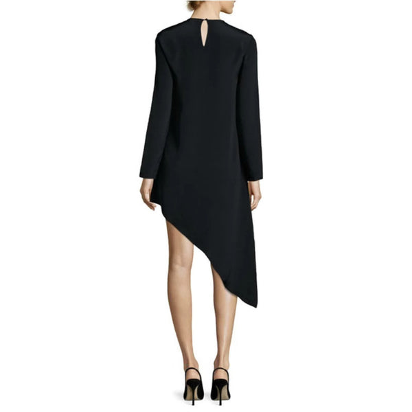 Alexis Black Asymmetrical Dress