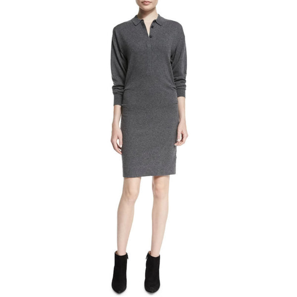 Burberry Brit Gray Cashmere Elyssa Dress