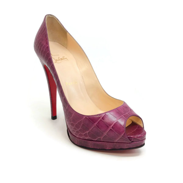Christian Louboutin Purple Very Prive Pumps