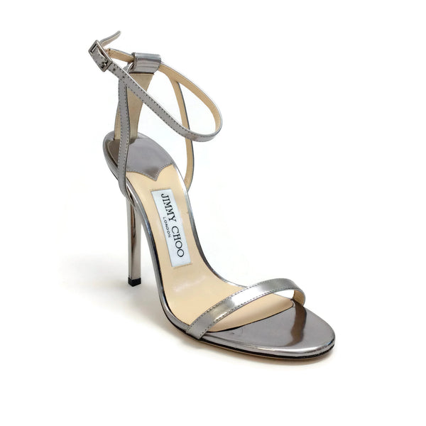 Jimmy Choo Steel Minny 100 Evening Sandals