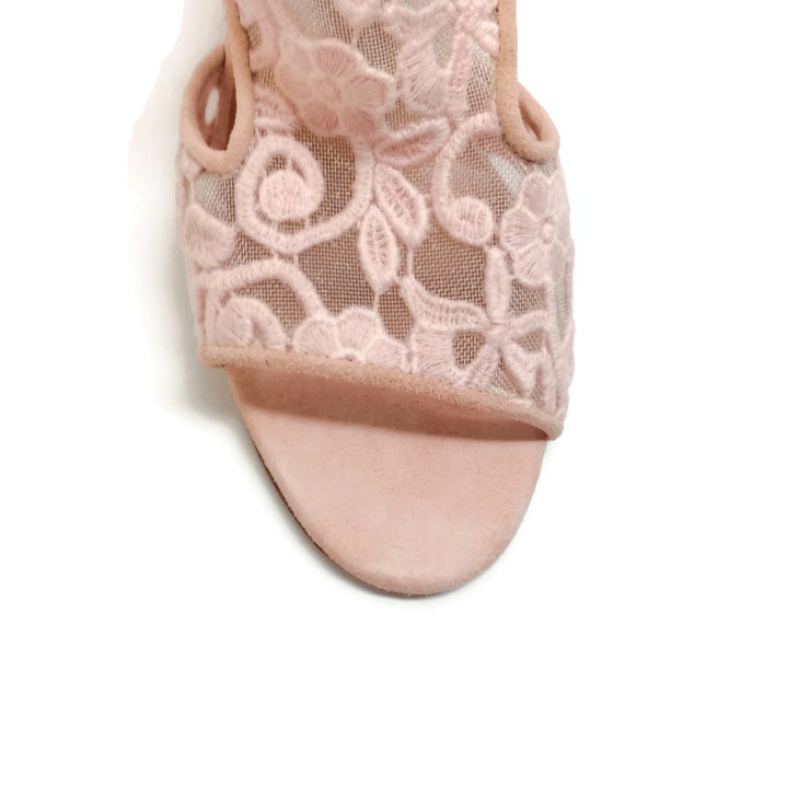 Laurence Dacade Blush Rush Sandals