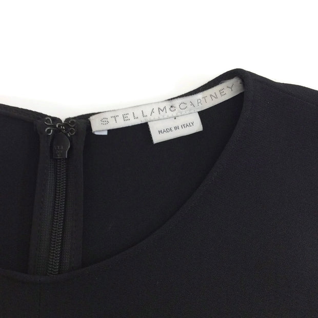Stella McCartney Black Pearl Asymmetric Dress