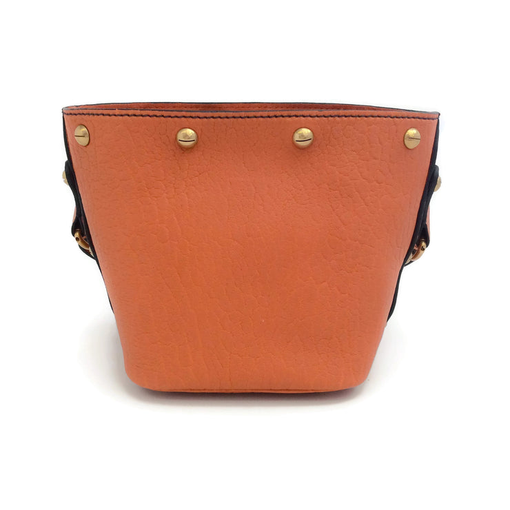 Dior Dioravenue Mini Orange Leather Shoulder Bag