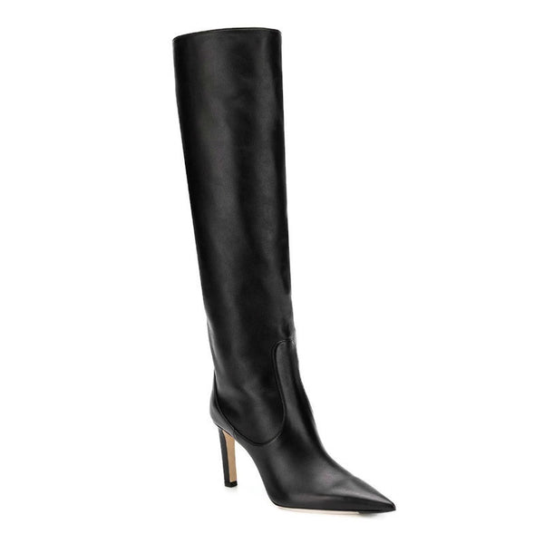 Jimmy Choo Black Mavis 85 Boots