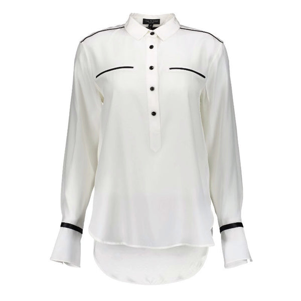 Rag & Bone White / Black Martel Blouse