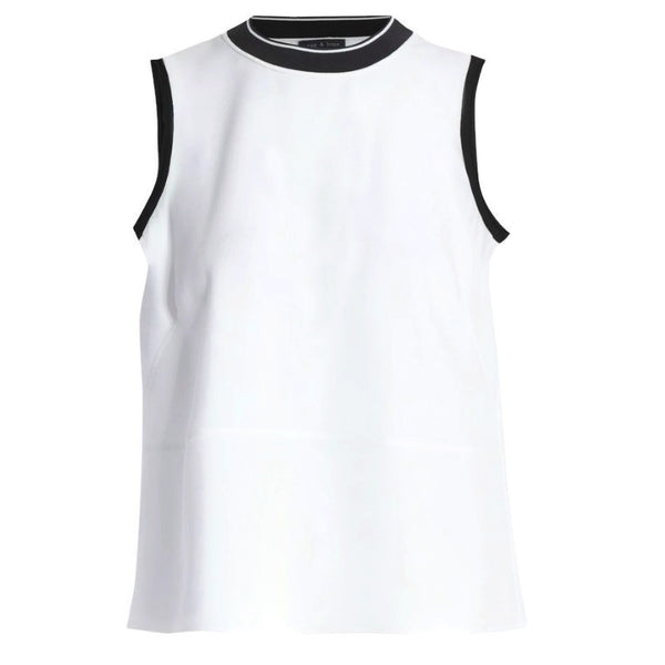 Rag & Bone White / Black Thatch Tank Top