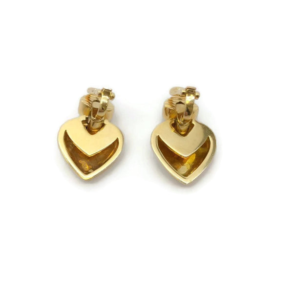 BVLGARI Gold Doppio Clip-on Earrings