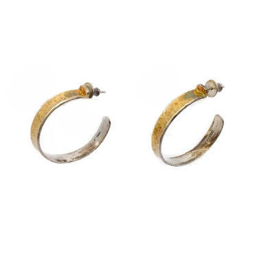 Gurman Gold / Silver Hoop Earrings