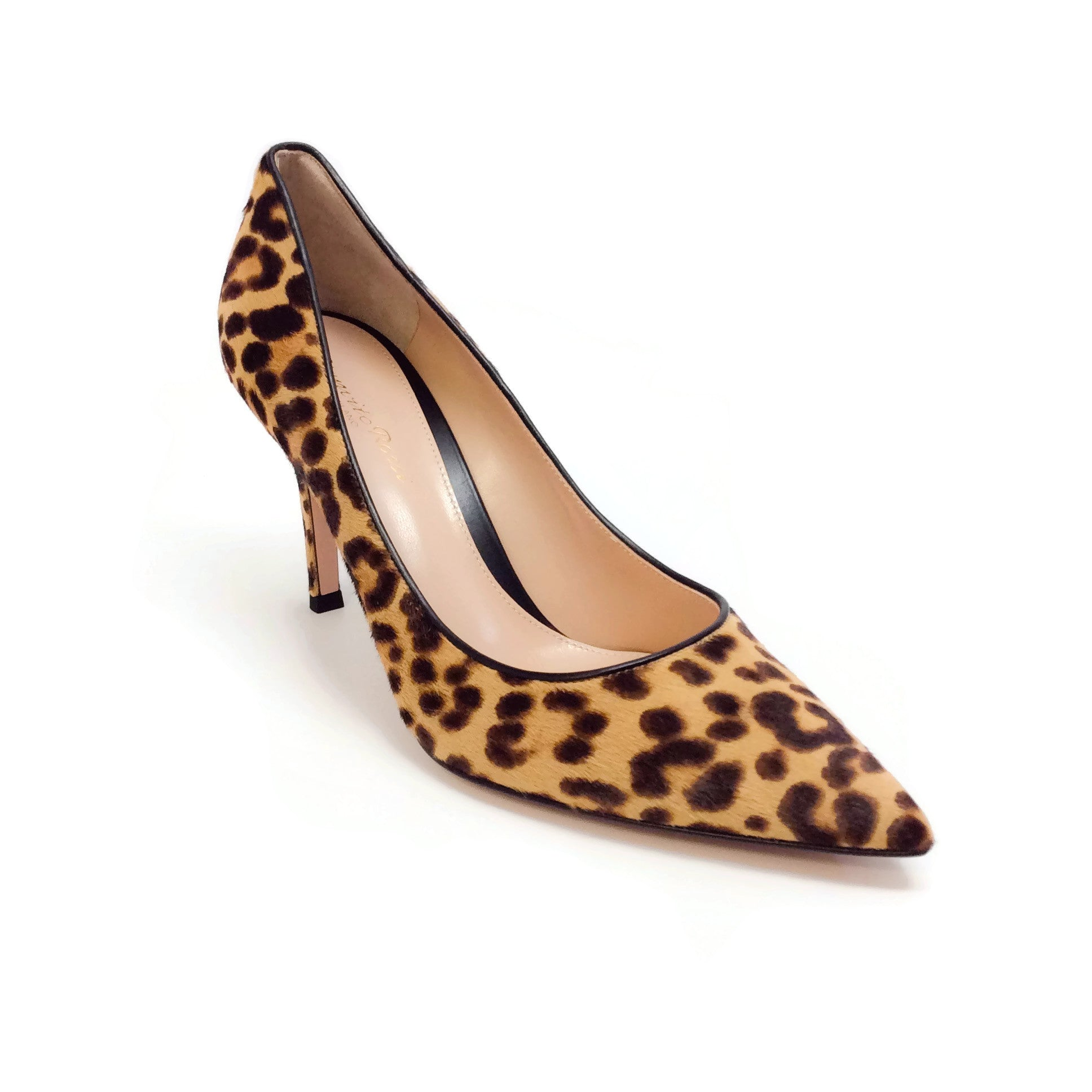 Gianvito Rossi Pony Leopard 85 Pumps