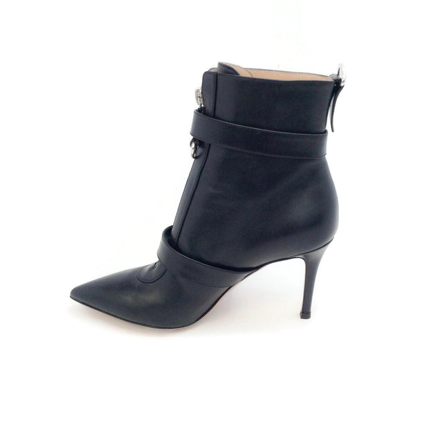 Gianvito Rossi Black Rings Boots